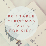 Christmas Cards For Kids – Christmas Art