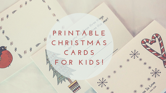 picture relating to Printable Christmas Cards for Kids identified as Fixed of 3 Printable Xmas Playing cards for Little ones
