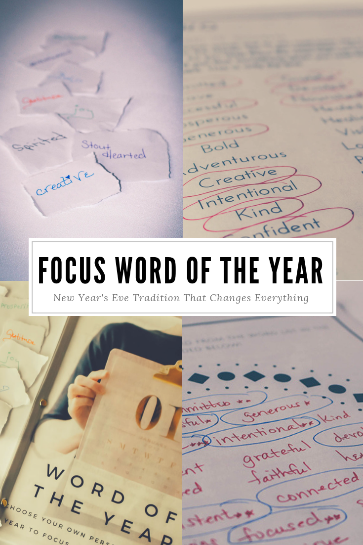 Find Your Word of the Year