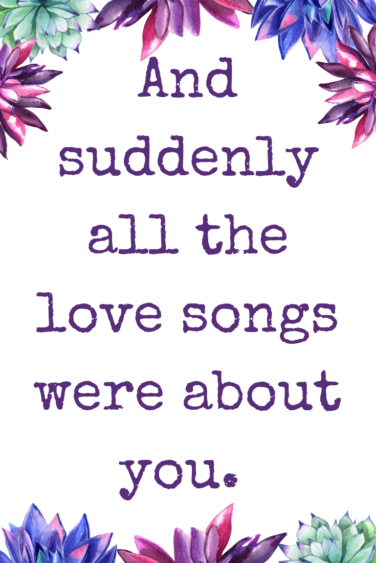 Love Songs Quote