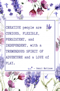 Quote about Being Creative