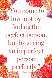 Sam Keen Love Quote