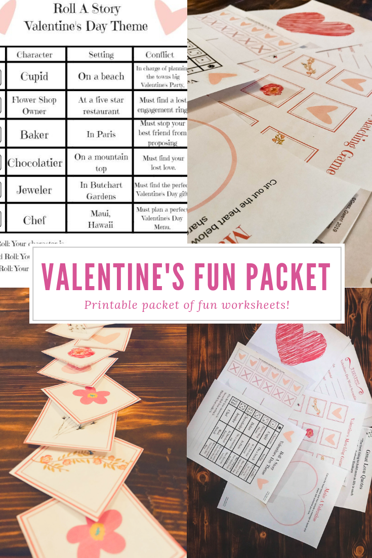 Valentine's Day Fun Packet