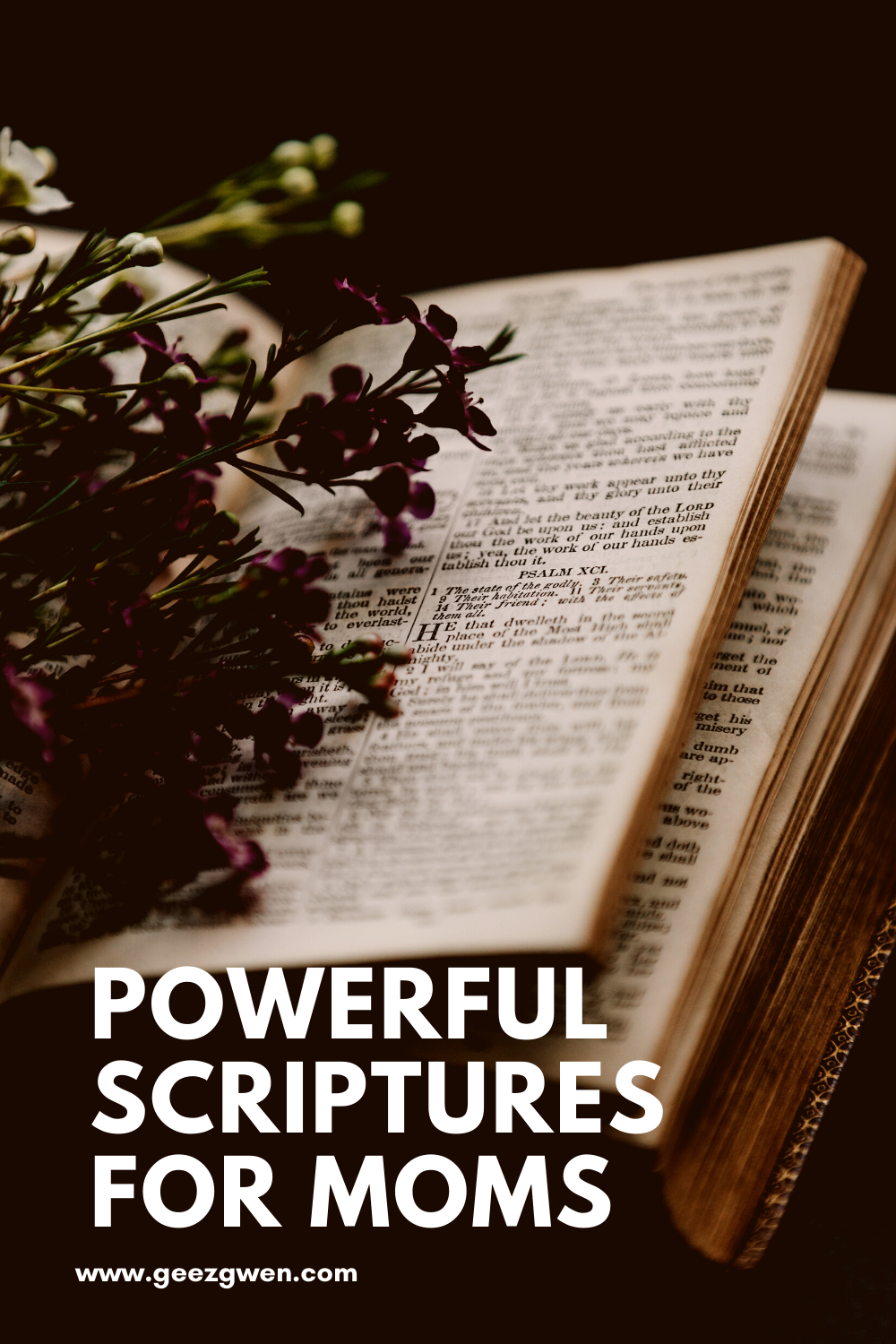 Powerful bible verses for Moms