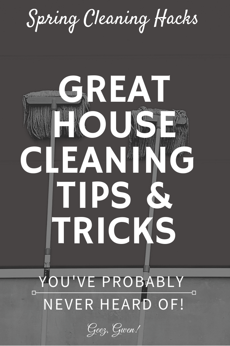 Housecleaning Hacks