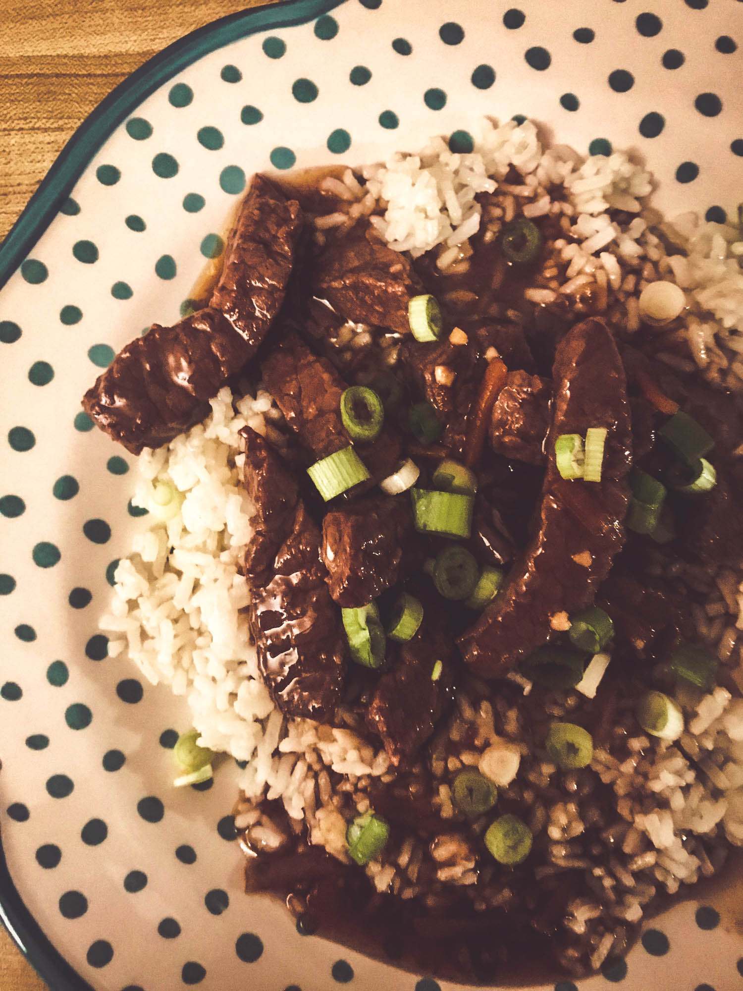 Instant Pot Mongolian Beef Dinner Recipe