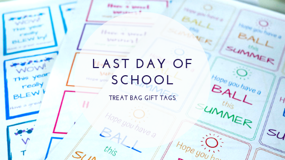 picture about Printable Gift Bags known as Past Working day of College or university College student Present Bag Printable Tags