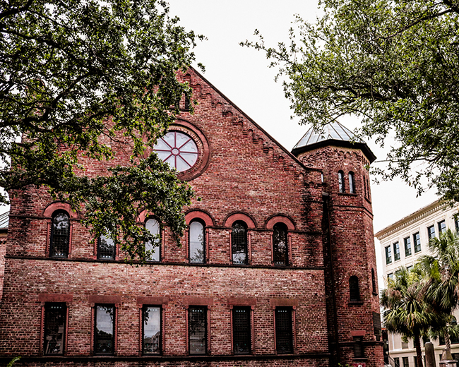 Circular Congregational Church in Historic Charleston