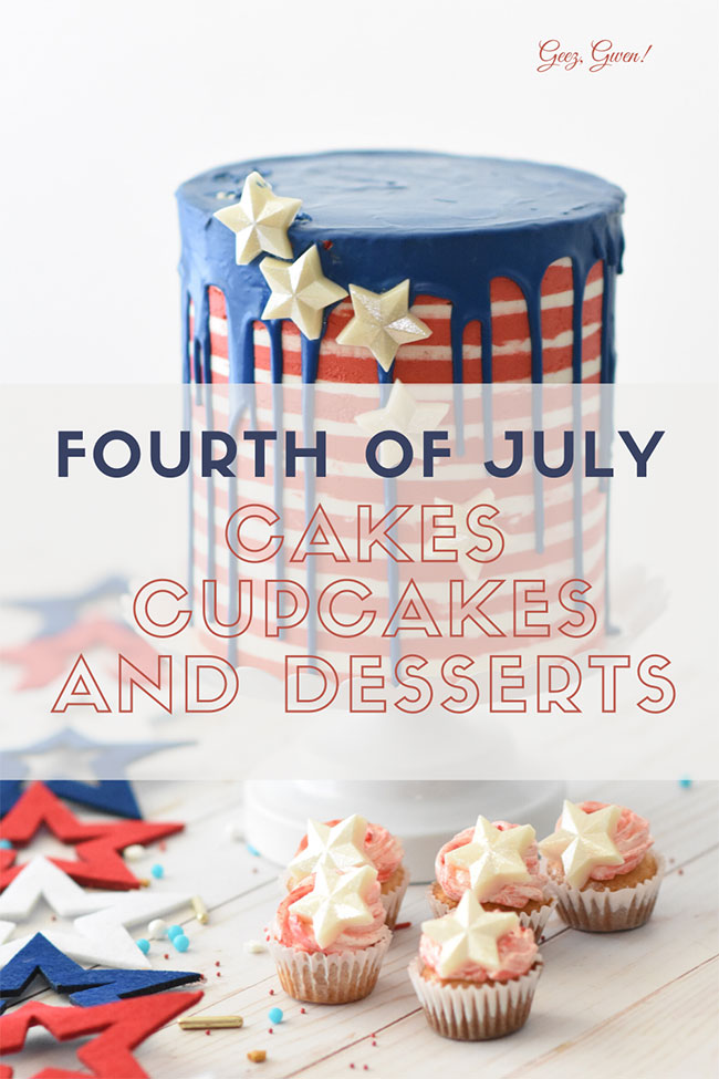 Fourth of July Cakes and Desserts