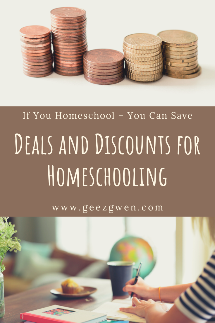 Homeschool Deals and Homeschool Discounts
