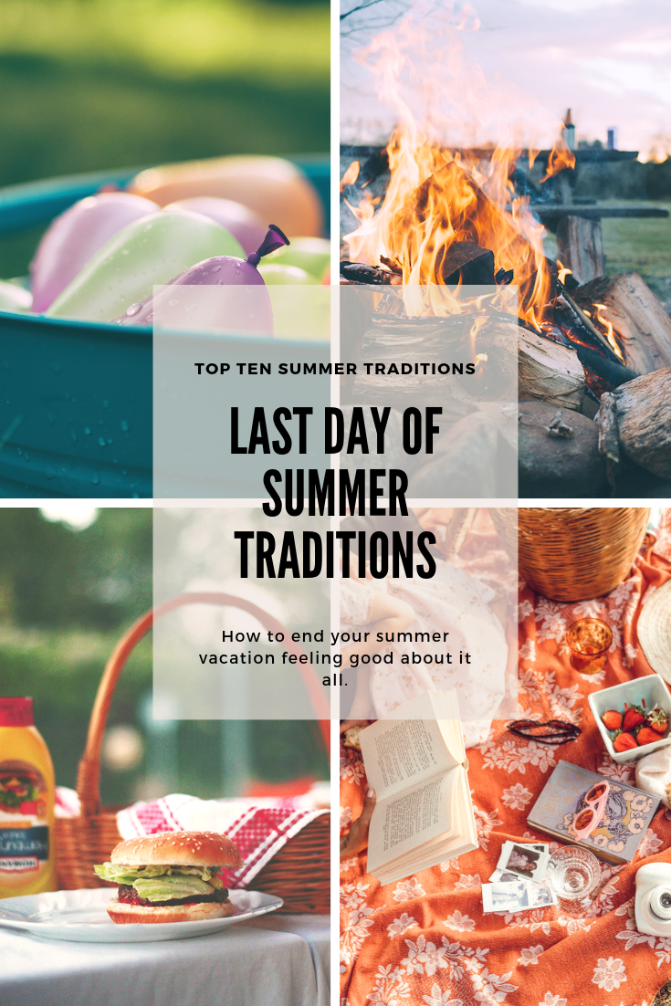 Top Ten Summer Traditions