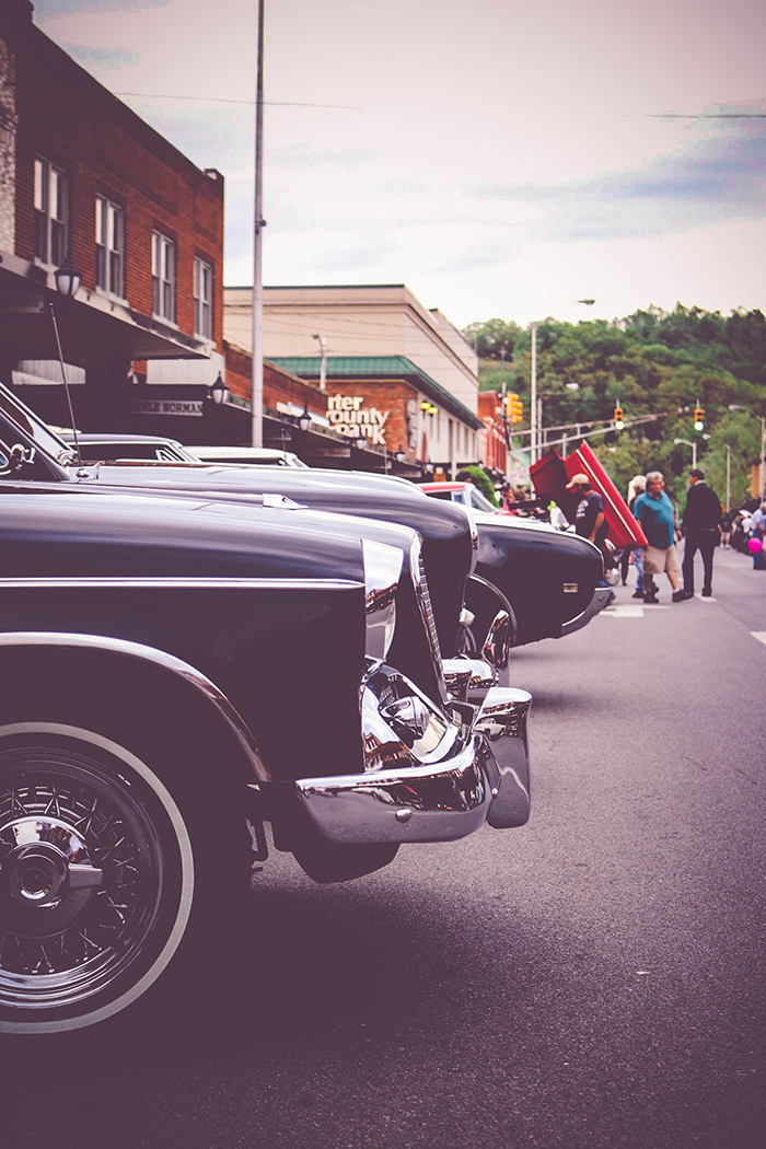 Car Show in Downtown Elizabethton TN