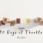 November's Thirty Days Of Gratitude Challenge – Day One