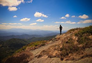 Birthday Hike On Roan Mountain from Carver's Gap
