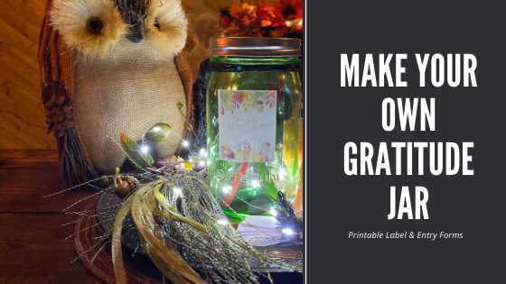 Make Your Own Gratitude Jar