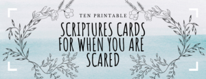 Printable Scripture Cards