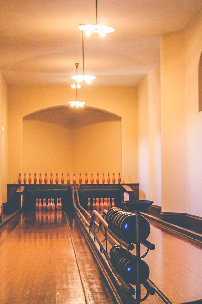 Bowling Alley at Biltmore Estates