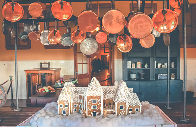 Gingerbread House at Biltmore House