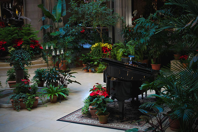 Piano at Biltmore House