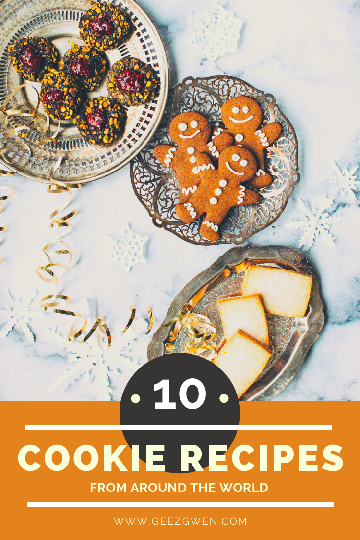 10 Cookie Recipes from around the world