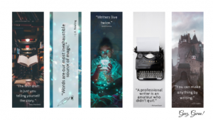 Printable Bookmarks for Writers