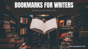 Bookmarks for Writers