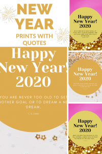 Happy New Year Digital Download for 2020