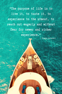 Eleanor Roosevelt Quote about life