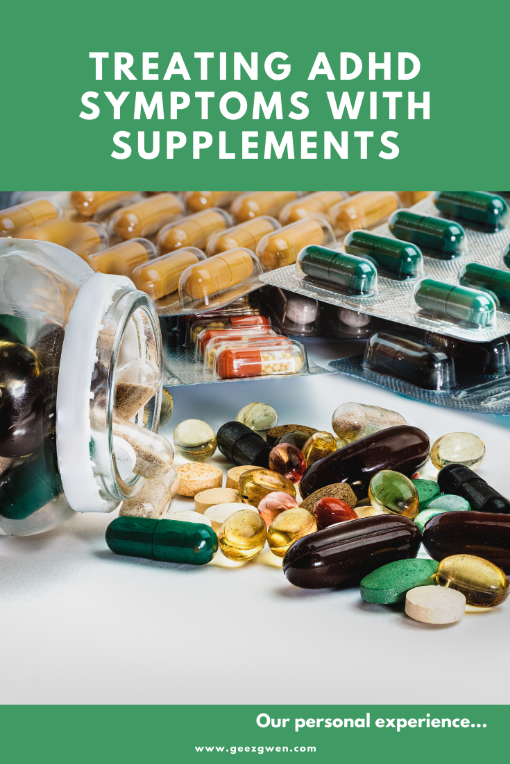 Our personal experience treating ADHD with supplements
