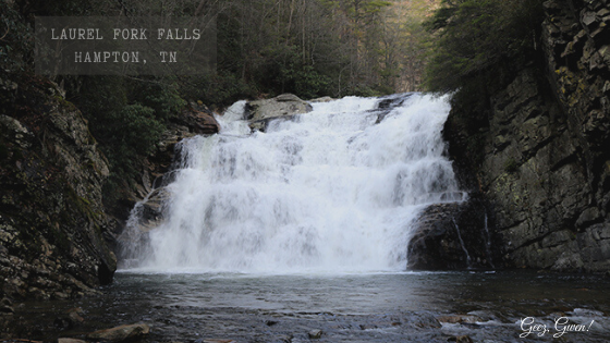 Laurel Fork Falls in East Tennessee
