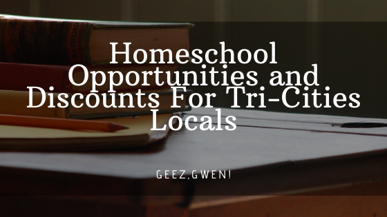 Homeschool Discounts and activities for locals