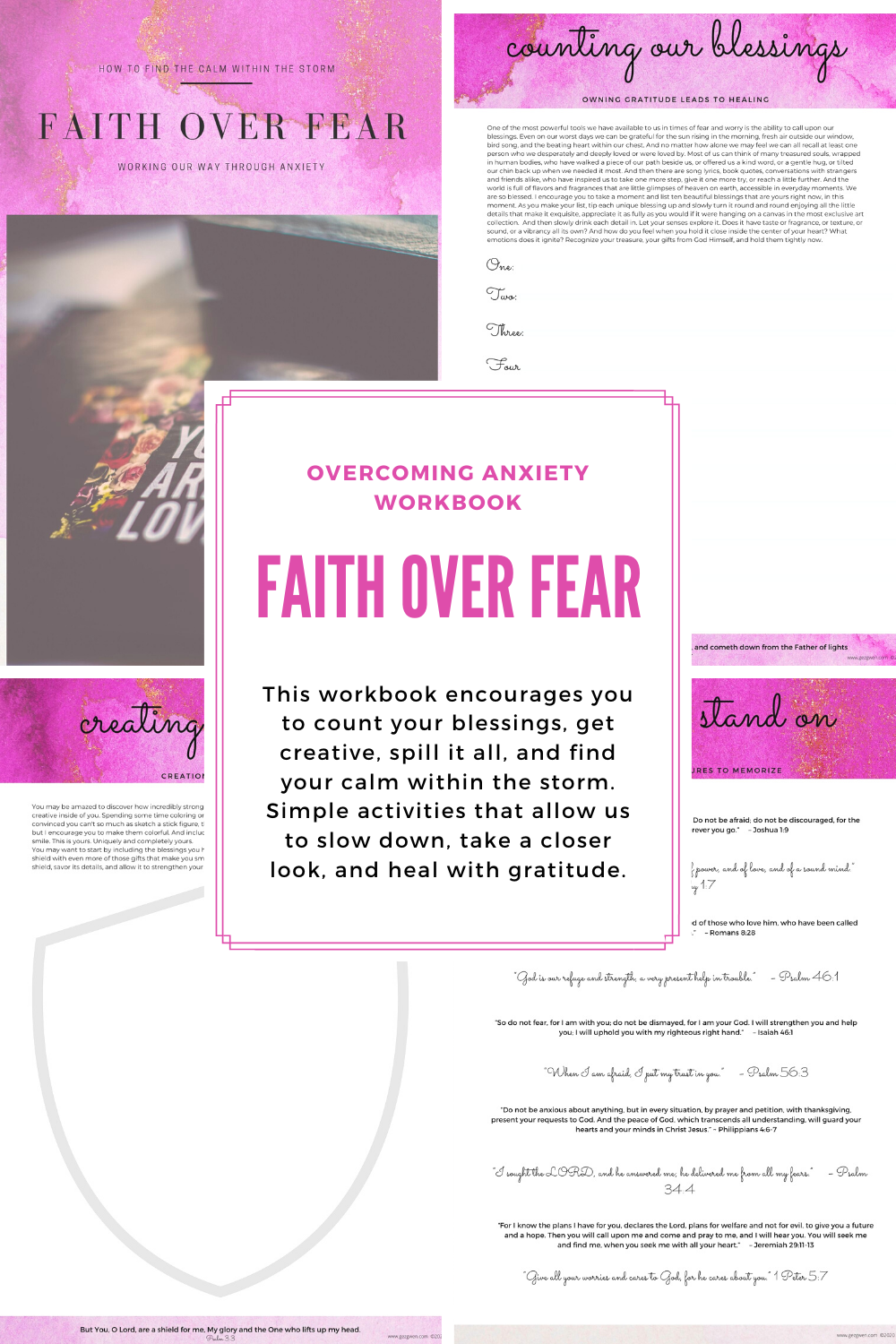 Faith Over Fear Workbook