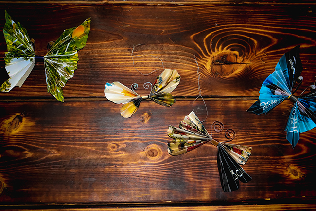 Butterfly Craft Reuse and Recycle