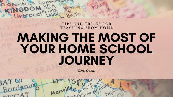 Tips for Teaching from Home