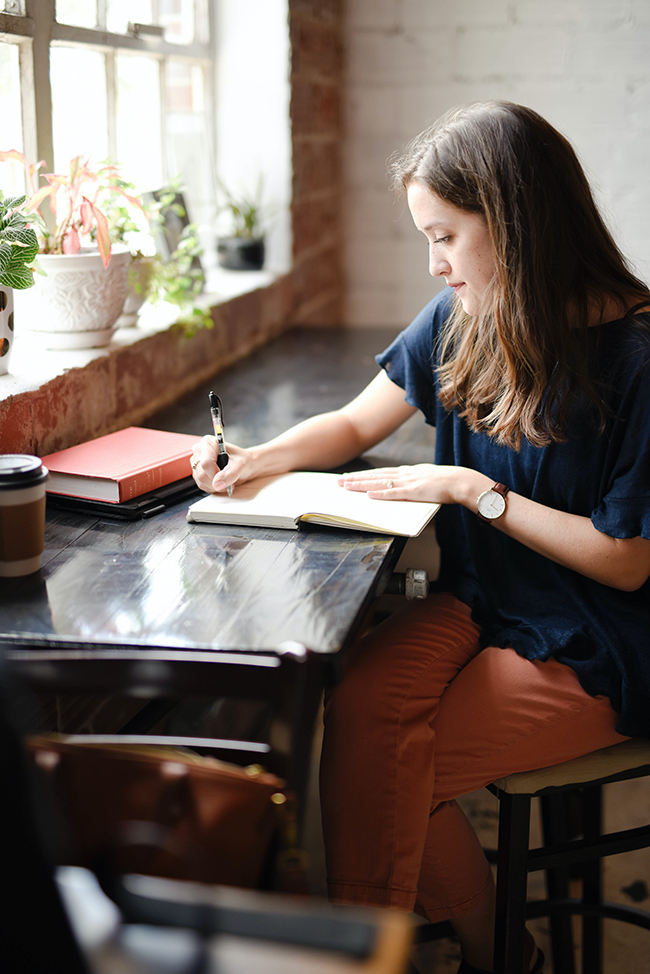 journaling - ten journaling writing prompts for when you are sad. List of writing prompts to help you feel better.