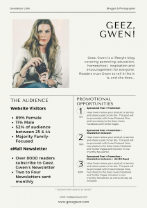 Work With Me - Geez, Gwen!