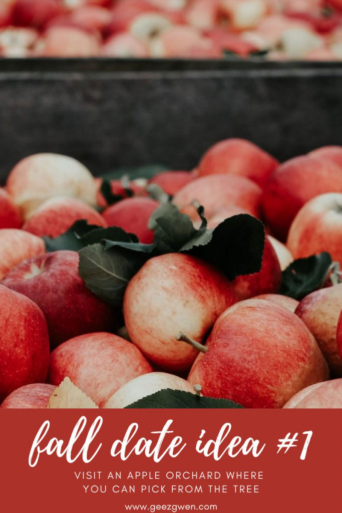 Fall Date Idea - Visit the Apple Orchard