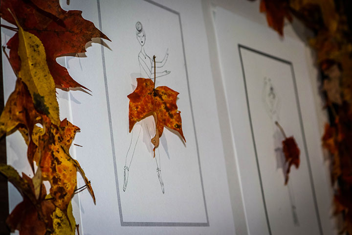 Leaf Ballerinas Fall Craft for Kids