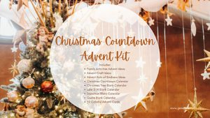Christmas Planning Kit with Advent Cards and Activity lists