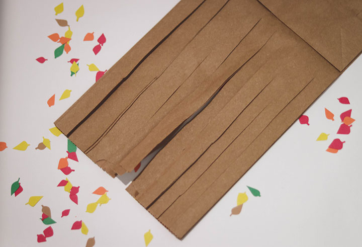 Brown Bag Fall Tree Craft for Kids