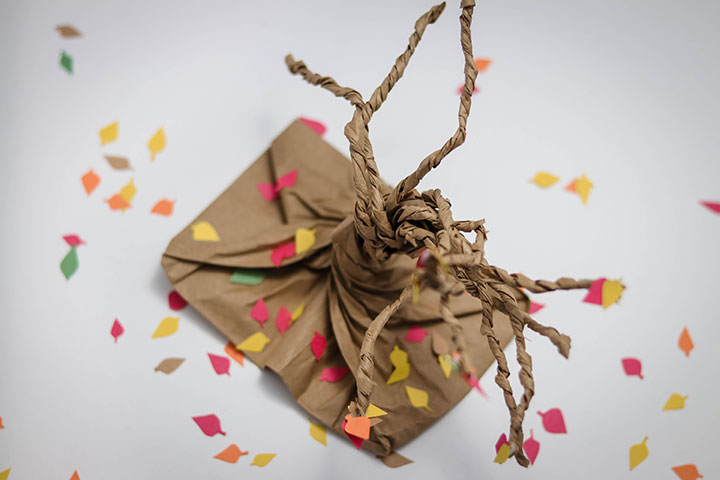 Fall Brown Bag Tree Craft for kids