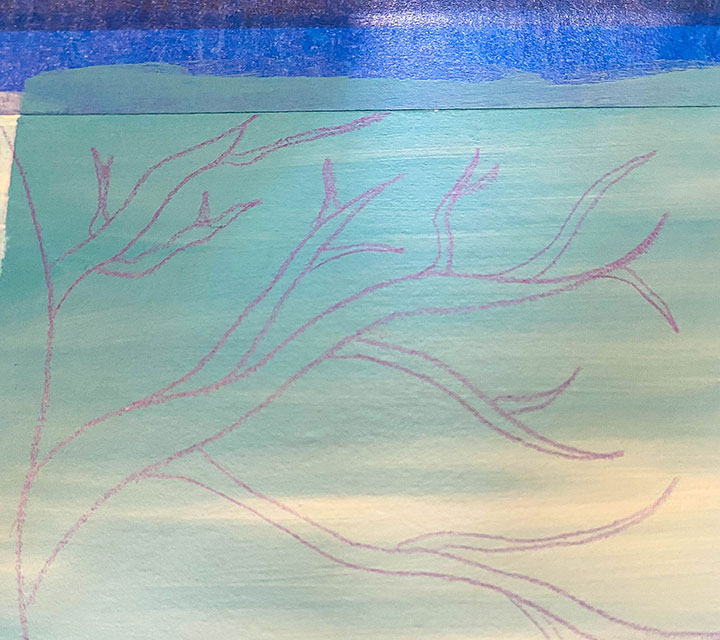 Fall Art Project - Autumn Equinox Tree Painting Step By Step