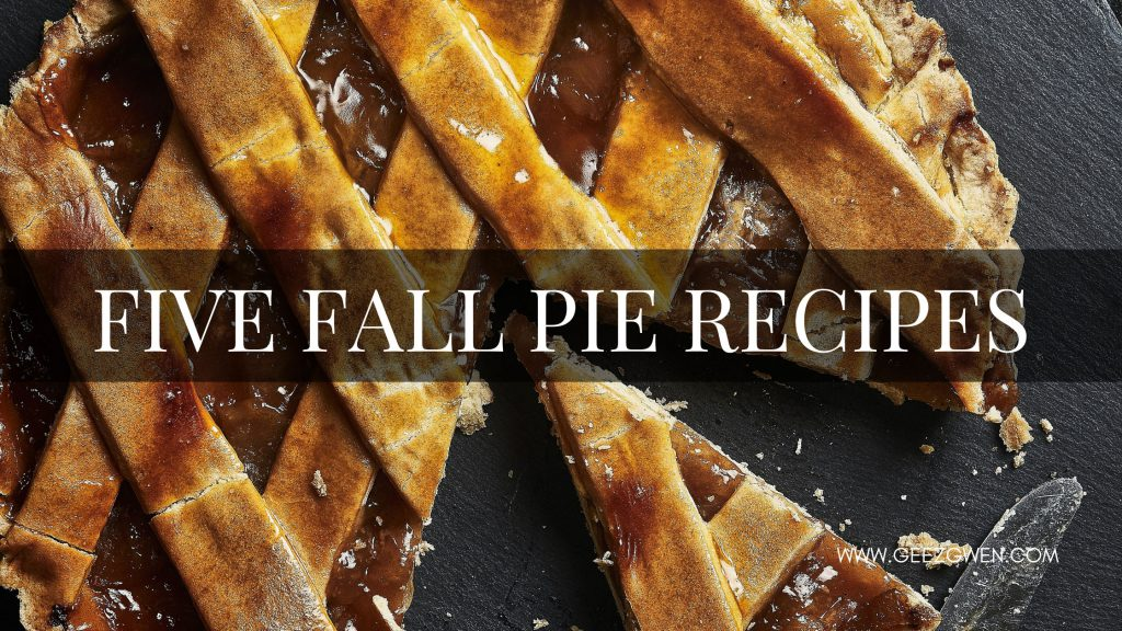 Five Fall Pie Recipes