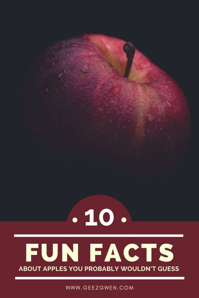 Ten fun facts about apples you probably wouldn't guess.