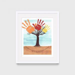 Grandparents Day Print Craft for Kids DIY