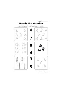 Winter Counting Worksheet Workbook