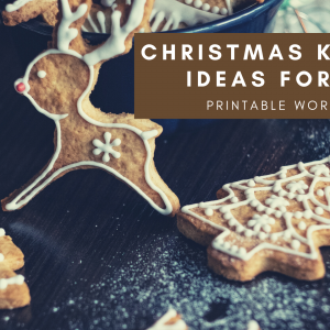 Christmas Kindness Ideas for Kids Printable Checklist