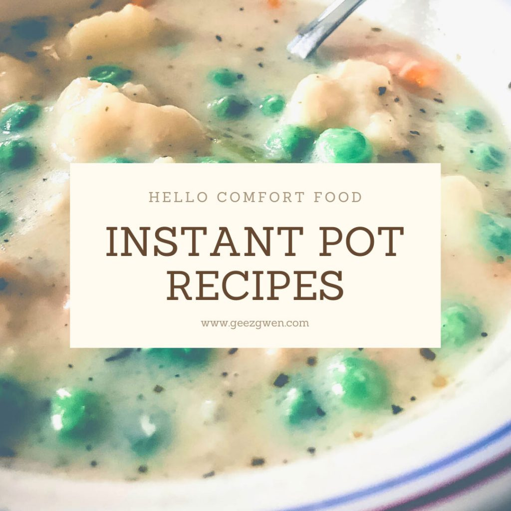 Instant Pot Comfort Food Recipes