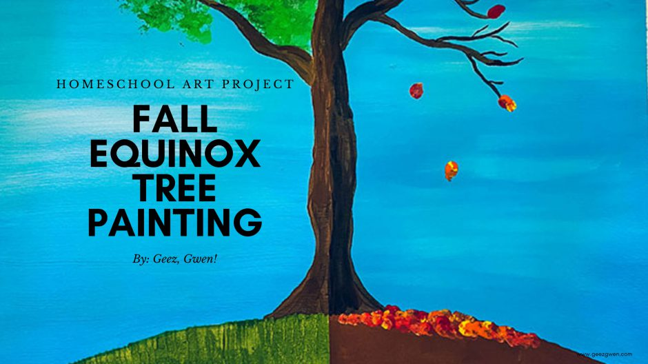 Autumn Equinox Painting - Fall Art Project