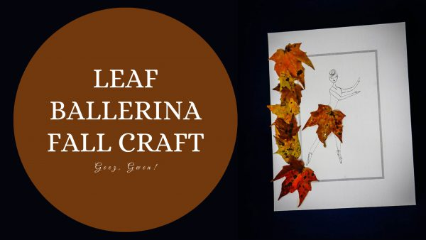 Leaf Ballerina Fall Craft